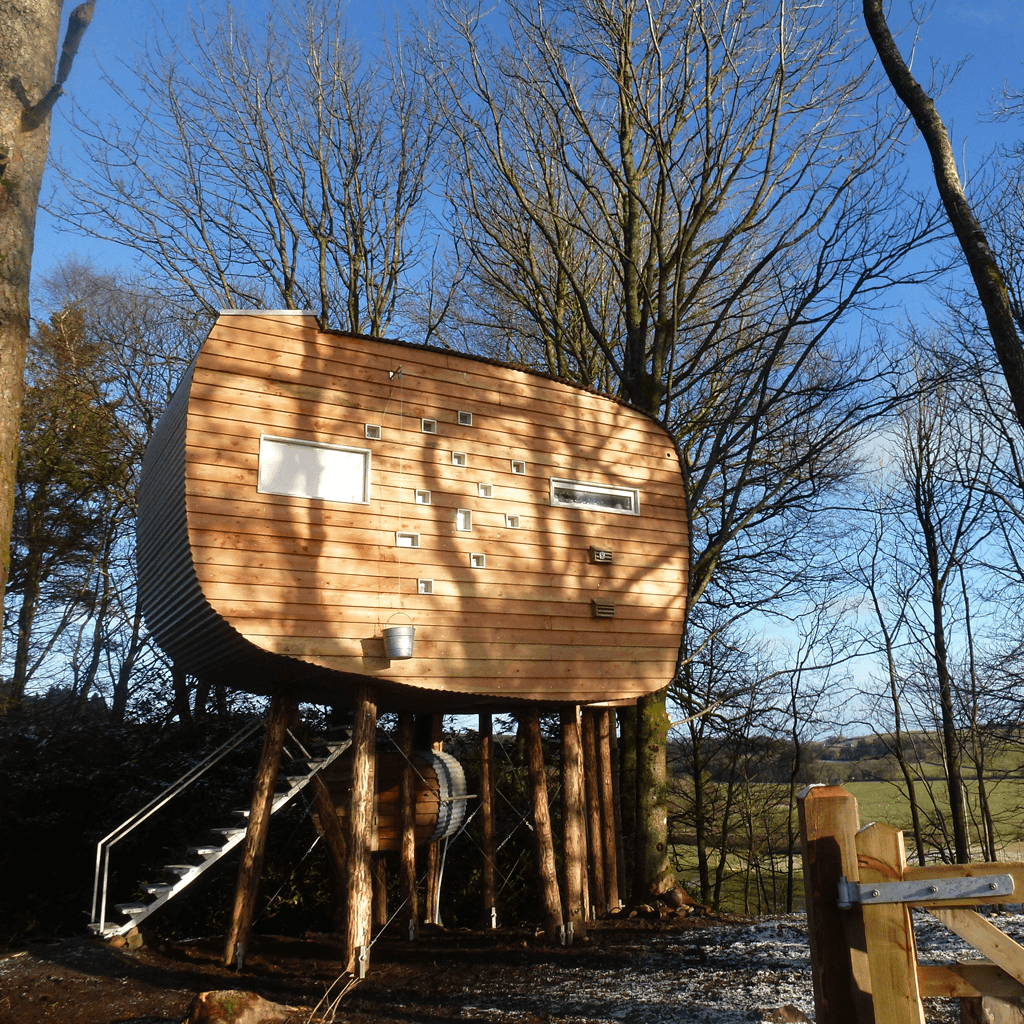 Brockloch Bothy - Eco Holiday Treehouse